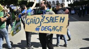 Manifestationen Algérie