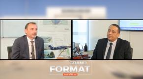 cover: Grand format. Entretien exclusif avec Stephen Orr, numéro un de Bombardier Maroc