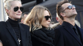 Laeticia, Laura et David Hallyday