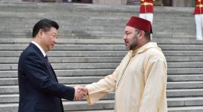 Mohammed VI - Xi Jinping