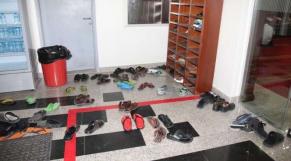 Mosquée-chaussures