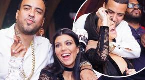 French Montana et Kourtney Kardashian