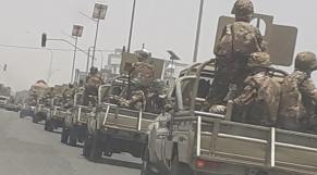 Diapo.Mauritanie: Nouakchott quadrillé par l'armée, après la présidentielle