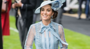 Kate Middleton lors du Royal Ascot