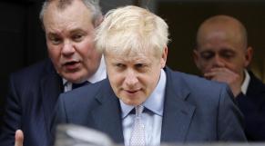 Le député conservateur Boris Johnson