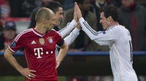 Gareth Bale, CR7 et Robben