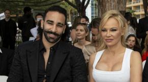 Pamela Anderson et Adil Rami