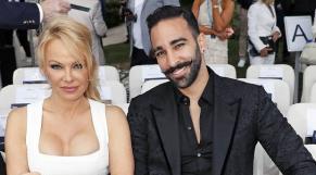 Pamela Anderson et Adile Rami