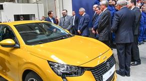 Inauguration de l'usine PSA de Kenitra