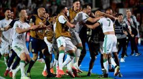 Algérie Nigeria joie fennecs