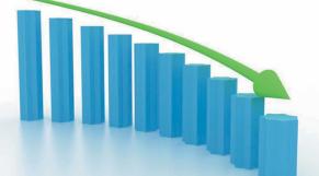Croissance baisse