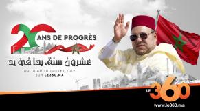 Cover_Vidéo: Le360.ma •Teaser. Mohammed VI, 20 ans de règne et de progrès