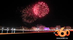 Cover_Vidéo: Le360.ma •الشهب الاصطناعية تسطع في سماء طنجة احتفالا بعيد العرش