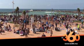 Cover_Vidéo: Le360.ma • روبورتاج : في اول يوم احد مسبح الرباط يستقبل 8000 مسطاف