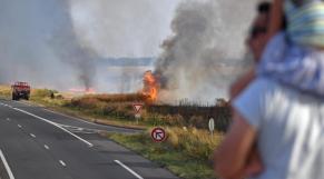 Incendie France Eure-et-Loir