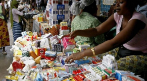 médicaments vendus dans la rue