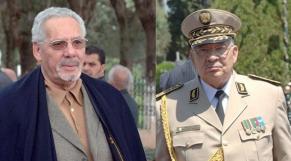 Khaled Nezzar et Gaïd Salah