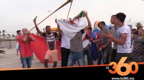 Cover_Vidéo: Le360.ma •هكذا تابع مغاربة وجزائريون نهائي الكان بالمنطقة الحدودية