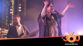 Cover Vidéo - ظهور الفنانة لطيفة رأفت بعد حملها على منصة مهرجان سيدي إفني