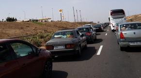 Embouteillage autoroute