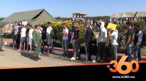 Cover_Vidéo: Le360.ma • الجيش يفتح ثكنته بالعرائش لإنتقاء المدعوين للخدمة العسكرية بجهة طنجة