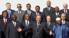 Chirac et les dirigeants africains