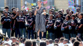 Meghan Markle en Afrique du Sud