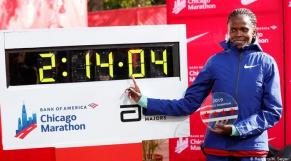 Brigid Kosgei record marathon