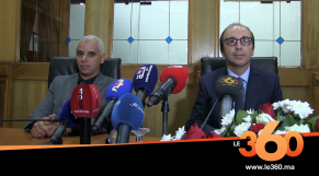 Cover Vidéo - تعرفوا علي مراسم تسليم السلط بين انس الدكالي و خالد آيت الطالب
