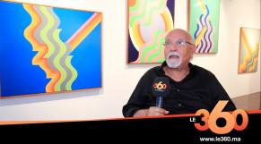 Cover Vidéo - Exposition New Waves Mohamed Melehi au MACAAL: entretien avec l'artiste