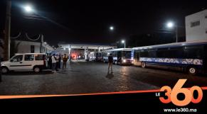 """Cover Vidéo - شاهد حريق بمستودع حافلات """"مدينة بيس"""" بالدار البيضاء"""