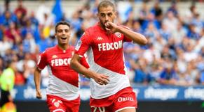 Islam Slimani et Wissam Ben Yedder AS Monaco