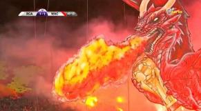 tifo dragon Wydad