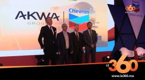 cover vidéo :Le360.ma •Akwa group – Chevron Le Maroc, nouveau hub africain pour les lubrifiants