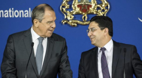 Bourita et Lavrov