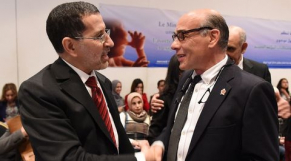 Chafik Chraibi et Saâd Eddine El Otmani