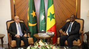 Ghazouani et Macky Sall
