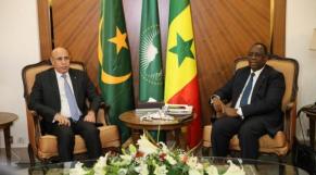 """""""CORRECTION SIMO"""" Sénégal: Macky Sall et Ghazouani appellent à un """"mandat robuste de l'ONU"""" dans le Sahel"""