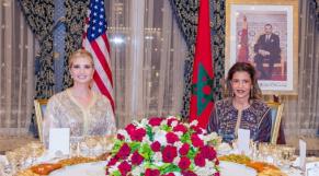 Ivanka Trump et la princesse Lalla Meryem6