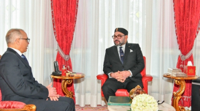 Mohammed VI et Chakib Benmoussa