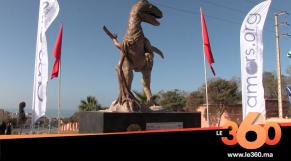 Cover Vidéo - تدشين مُجسَّم ديناصور ضخم بأنزا أكادير لاستقطاب السياح