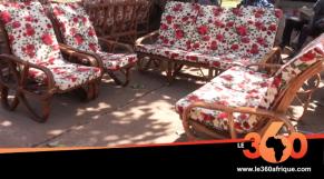 Vidéo. Mali: l'art de la confection du mobilier artisanal avec du bambou
