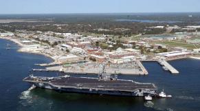 base navale en Floride