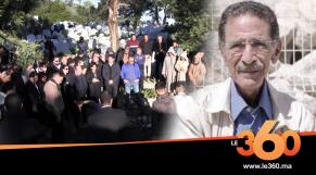 Cover_Vidéo: Le360.ma •تشييع جنازة الكاتب المغربي لطفي اقلعي بمقبرة طنجة