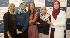Les lauréates des bourses L'Oréal-UNESCO Maghreb For Women in Science 2019