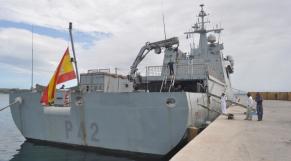 Navire de guerre espagnol