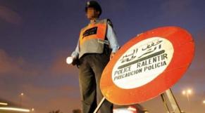 Barrage police