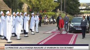 Cover_Vidéo: Lalla Khadija inaugure le vivarium du Jardin zoologique national de Rabat