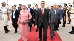Saad Eddine El Othmani et sa femme