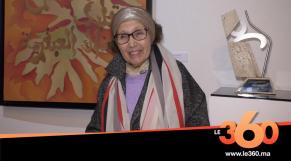 Cover Vidéo - Le syndicat marocain des artistes plasticiens professionnels rend hommage à Malika Agueznay